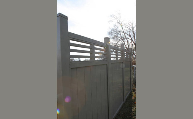 semi private fence