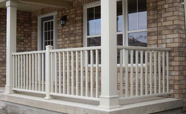 handrails for porch